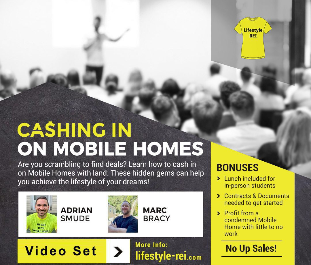 Flyer Image: Lifestyle Rei - Cashing in on Mobile Homes
