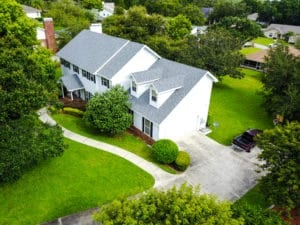 Aerial - R.I.G. Construction & Roofing - Shingle Roof Replacement Vista View Lakeland, Florida
