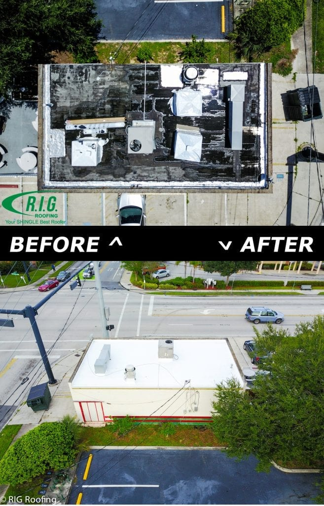 What To Do When Your Commercial Roof Is Leaking - R.I.G. Roofing