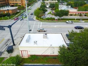Commercial Roof is leaking R.I.G. Roofing