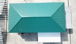 R.I.G. Roofing Donates New Roof for Sertoma Park Concession Stand