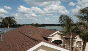 Aerial View of Shingle Roof - RIG Roofing