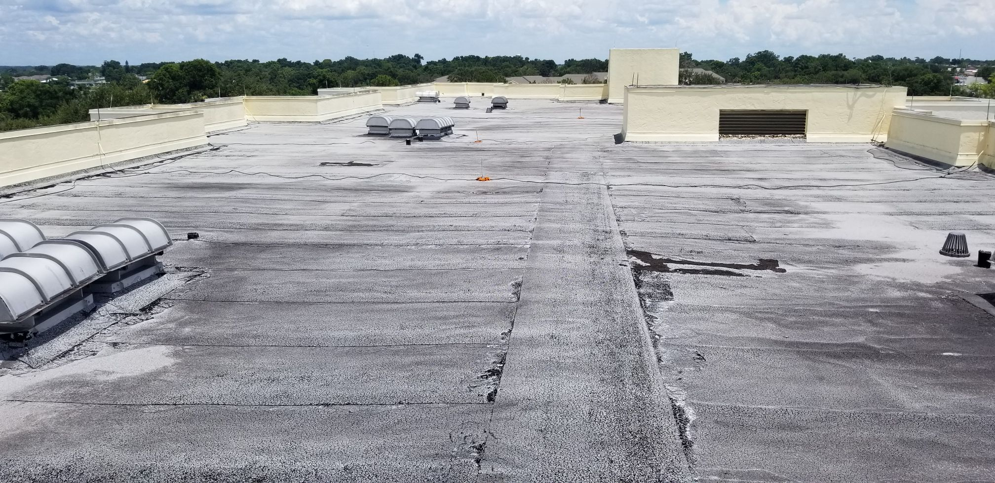 commercial roof damage