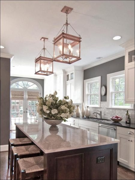 Sharrett Construction - accent lighting in your kitchen