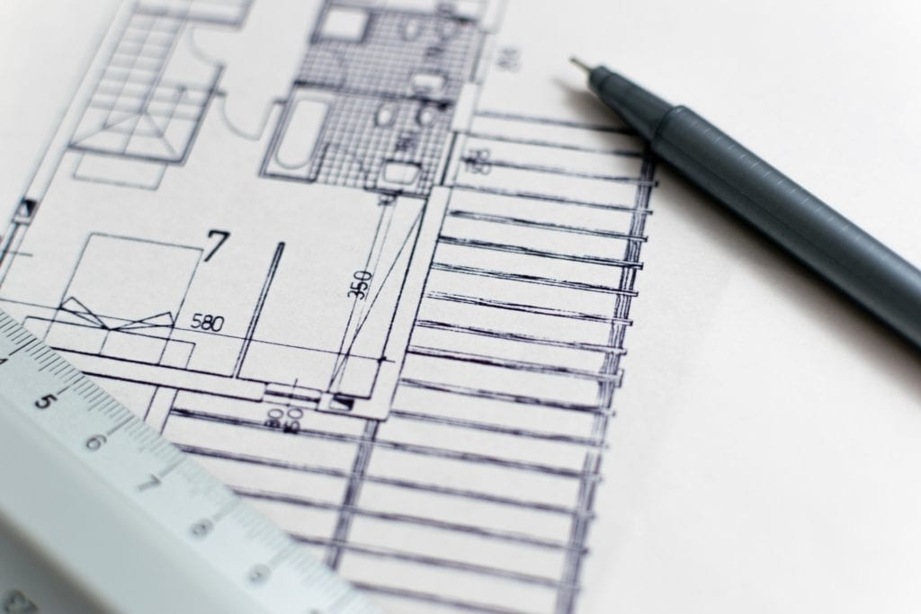 building a custom home blueprints